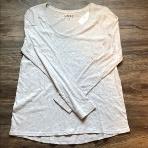 🆕 NWT Loft Long Sleeve Tee